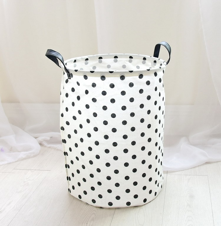 Laundry Basket 35*45 CM Sundries Storage Container Folding Storage Basket Toys Home Clothes Storage Bag Clothes Organizer 10
