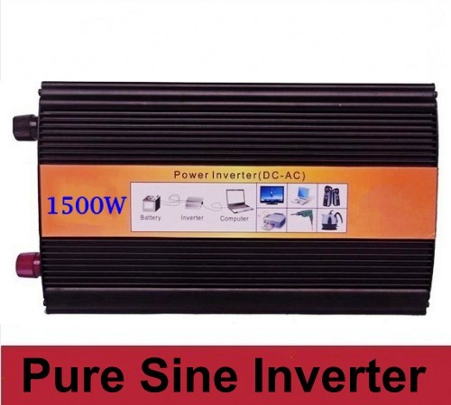 digital Display Reliable Solar Power Inverter 1500w Home Inverter 3000W Peak off grid Pure Sine Wave Inverter