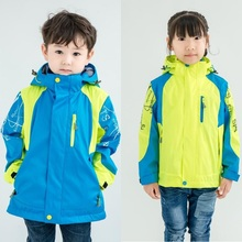 Waterproof Children Outerwear 2-Piece Clothing Sets Warm Child Coat Windproof Boys Girls Jackets Sporty For 4-14 Years Old