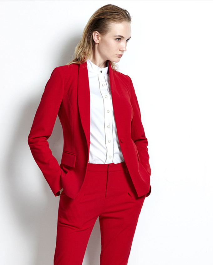 Womens Red Suits Sale | My Dress Tip