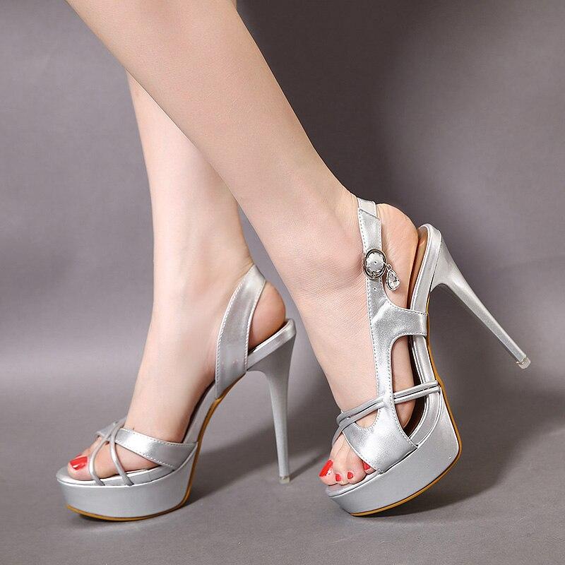 Summer Shoes Platform Fretwork Rome Slip Ladies On Dangling Crystal WEDYH29I