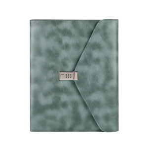 Image 5 - Fichario Binder A4 Document File Folder With Lock Business Organizer File Cabinet Holder Manager Padfolio Password Briefcase Bag