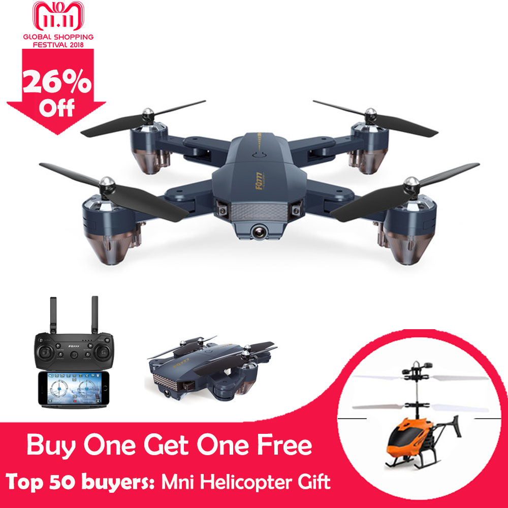 Foldable Selfie Drone FQ777 FQ35 With WIFI HD Camera FPV RC Drone Rc Helicopter Remote Control Toy For Kids vs XS908 Xs809hw rc drone foldable aircraft helicopter fpv wifi rc quadcopter 2 4ghz remote control dron with hd camera vs visuo xs809w xs809hw