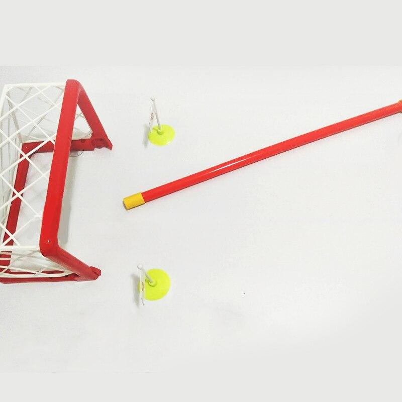 Mini objectif de Hockey en plastique bâton avec lumière et musique pour divertissement familial cadeaux de fête d'anniversaire sport jeu jouet - 3