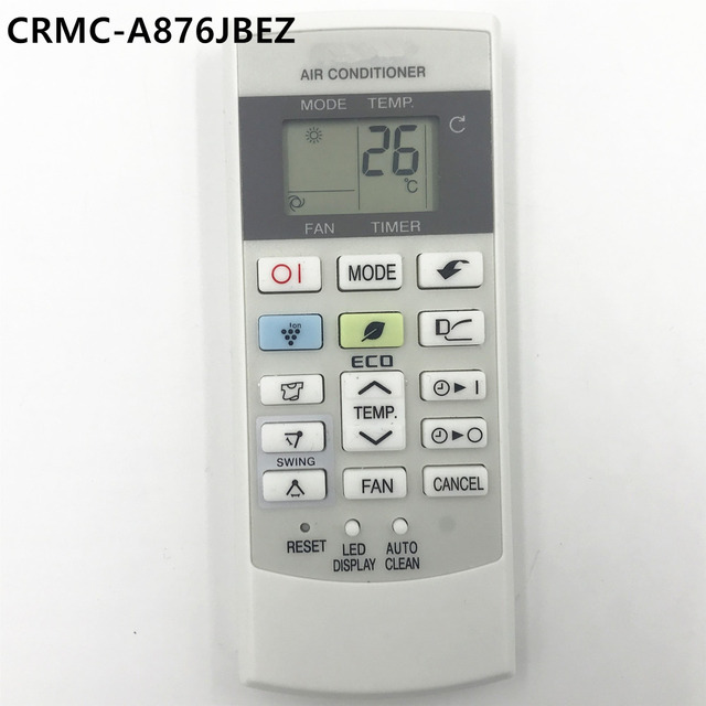 Ac Remote Control Crmc A876jbez Fit For Sharp Air Conditioner Conditioning