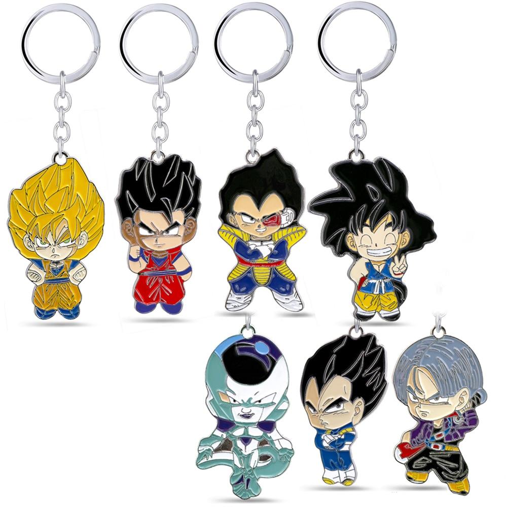 Japan Anime Dragon Ball Z Vegeta Acrylic Key Ring Pendant Vegeta Keychain Gift