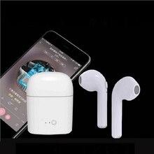 I7s СПЦ Наушники с заряда в поле Зарядное устройство Случае Наушники Bluetooth Беспроводной Наушники для iOS телефона Android