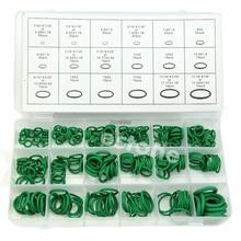 Высокое качество резины 270 шт. 18 размеров уплотнительное кольцо комплект зеленый метрическое уплотнительное кольцо нитрил
