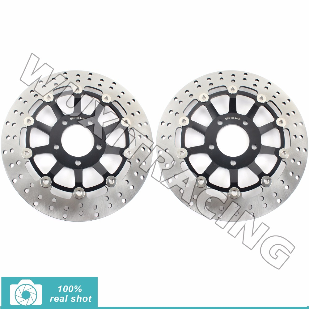 Round Front Brake Disc Rotor For RF 900 R 94-99 GSF BANDIT / S 1200 95-05 96 97 00 01 03 04 GSX 1200 FS INAZUMA 98-02 GS SS 1200