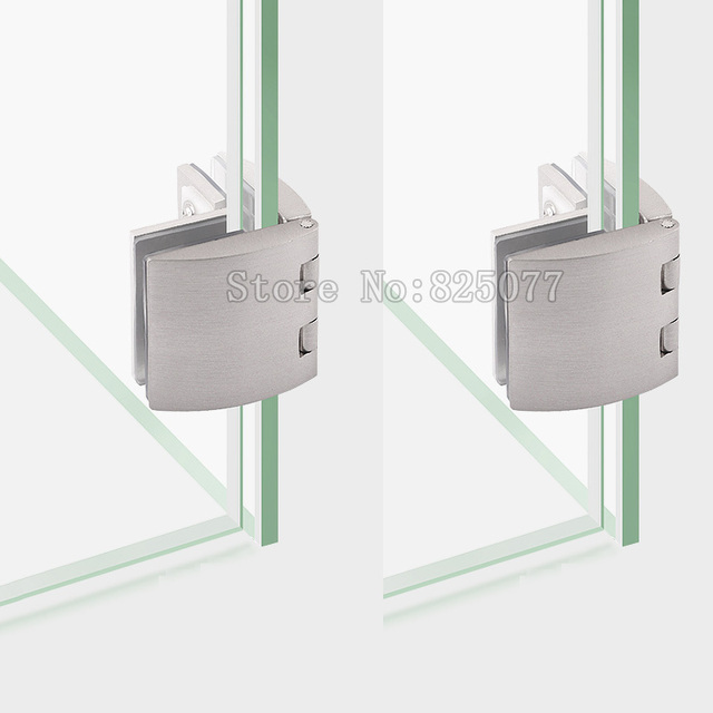 8pcs brushed zinc alloy arc bilateral glass hinge showcase glass 8pcs brushed zinc alloy arc bilateral glass hinge showcase glass door clamp cabinet clip for 5 planetlyrics Image collections
