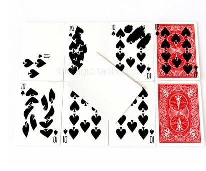 Freies verschiffen schnelle Karte Druck super print karten zaubertricks