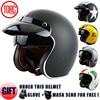 TORC T50 Open Face Motorcycle Helmet Free Shipping D Ring Closure Jet Vintage Helmet Retro 3