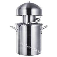 1PC Anti paste pot distiller NB10 Steamed wine Pure essential oils machine dew machine 304 stainless steel