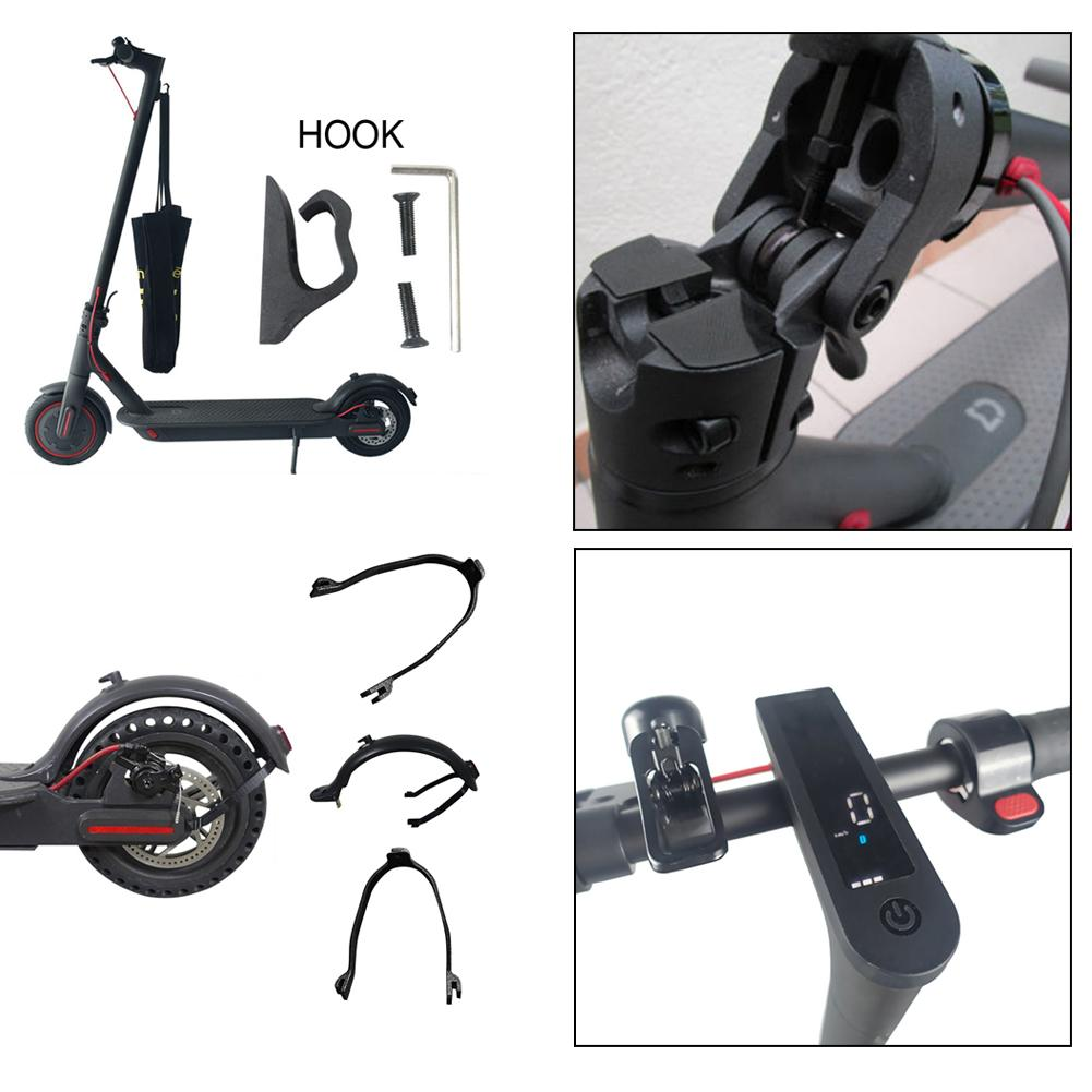 For Xiaomi M365 Electric Scooter Accessories Set Hook Damping Instrument Silicone Sleeve Fender Bracket Scooter Part Repair Tool