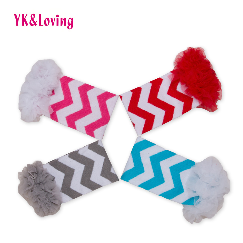2019 New Style Yk&loving Infant Baby Girl Leggings Striped Printed Girls Leg Warmers With Lace Ruffle Decorated Cotton Soft Newborn Accessories Moderate Cost Girls' Baby Clothing