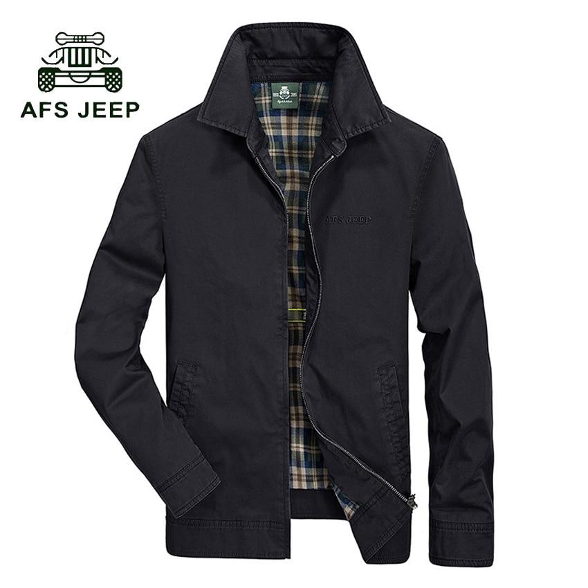 AFS JEEP мужская Повседневная куртки хлопка мыть пальто Военный мода Стенд воротник Верхняя Одежда jaqueta masculina Пальто мужчины 128z