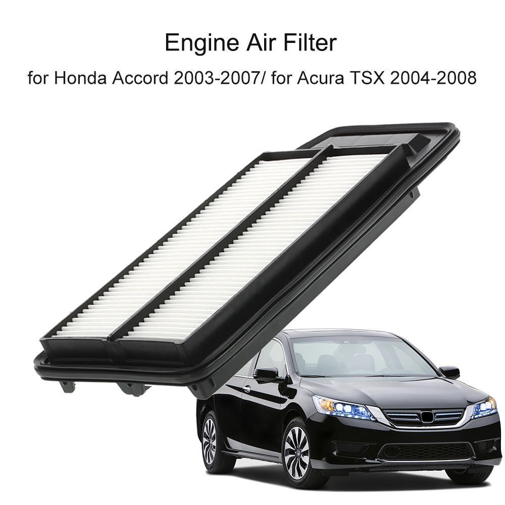 hight resolution of rigid panel engine air filter 17220 raa a00 for honda accord 2003 2007 for acura tsx 2004 2008 in air intakes from automobiles motorcycles on