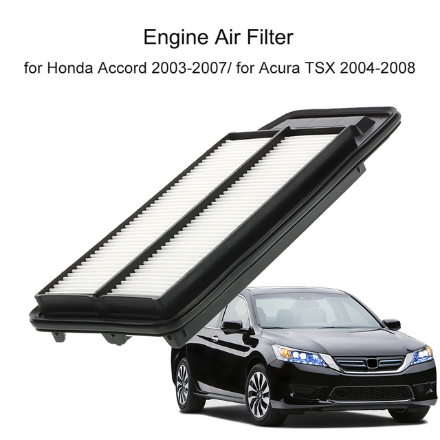 Rigid Panel Engine Air Filter RAA A For Honda Accord - 2007 acura tsx engine