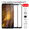 2 шт. закаленное стекло poкофона F1 для Xiaomi Pocophone F1 защита для экрана Xiomi Mi Poco X3 Pro F3 M3 F 1 3 Pocof1 защитная пленка