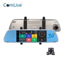 Camlive V6 3G 7 «двойной камеры HD1080P видеорегистратор Автомобильные видеорегистраторы