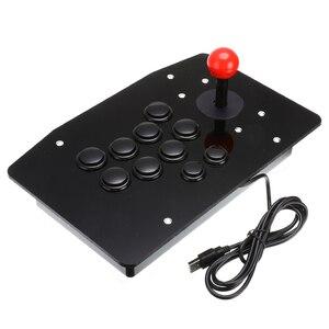 Image 4 - Nouvelle Arcade USB Bâton de Combat Joystick Manette De Jeu Manette de Jeu Vidéo Pour PC DE BUREAU Ordinateurs