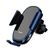 Baseus Fully automatic Car Phone Holder Intelligent Sensing Air Vent Mobile Stand For iPhone X XS Max XR Samsung Gravity