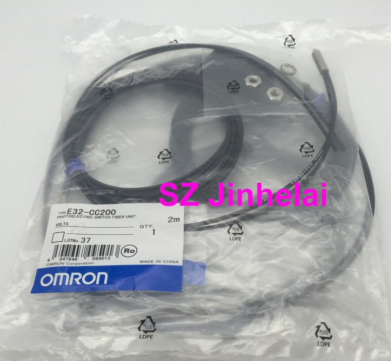 E32-CC200 Authentic original OMRON PHOTOELECTRIC SWITCH FIBER UNIT