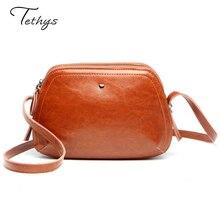 2016 New Leather Bag Fashion Cowhide Lady Shoulder Leisure Bag Mini Handbag