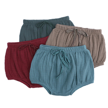 Shorts Trousers Linen Cotton Bloomers Pp-Pants Baby-Girls Newborn-Baby Summer Solid