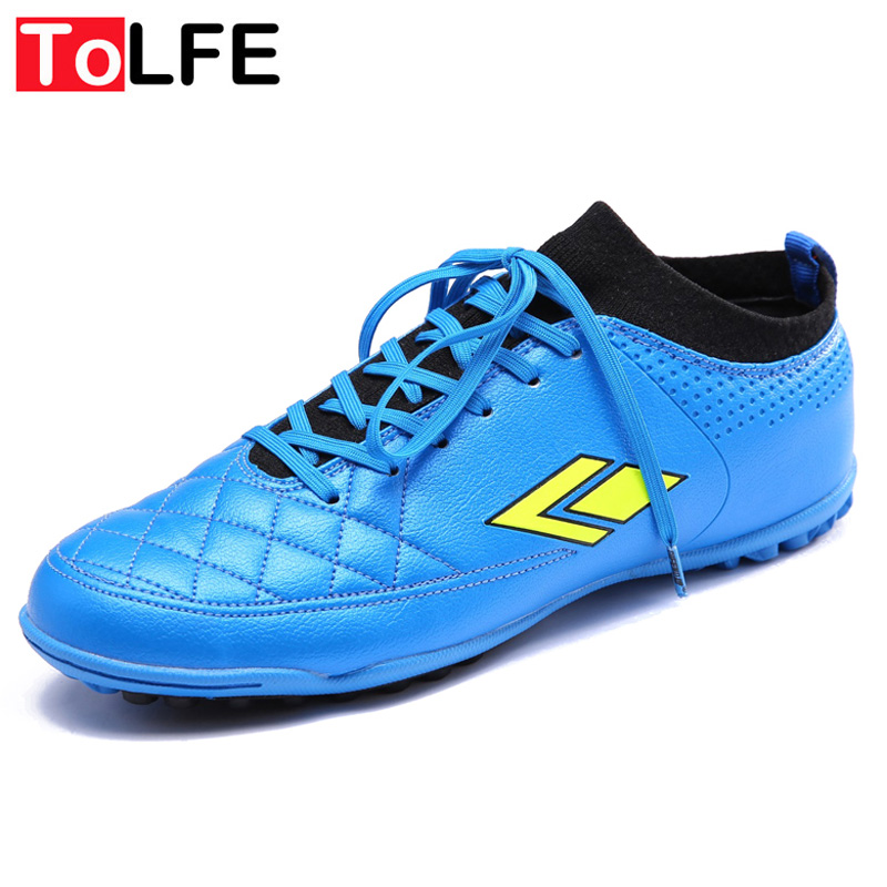 37f5d9f7ca6fd ToLFE Kids Mens Turf Soccer Shoes High Ankle Football Boots Botas De Futbol  Con Tobillera Hard Ground Men Boys Soccer Cleats-in Soccer Shoes from  Sports ...