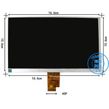 7″ inch Digma iDnD7 3G idnd 7 Tablet TFT LCD Display Screen Replacement Panel Parts Free Shipping