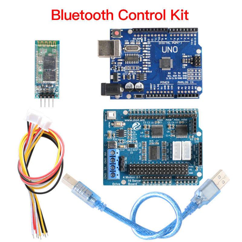 Bluetooth WiFi ручка контроллер комплект для Робот ардуино захватное устройство Танк шасси автомобиля DIY Набор штоков