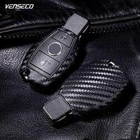 VENSECO Mercedes Anahtar Kapak Yumuşak W204 W205 Mercedes Anahtar Olgu için Fit W212 Cse Sınıf Mercedes Silikon Anahtar Kılıfı özel Benz Anahtar