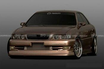 Kit de carrosserie FRP pour Toyota JZX100 Chaser (1996-1998) TRMT1 Style fibre de verre avant/arrière demi-Spoiler (pré-facelifté)/jupe latérale