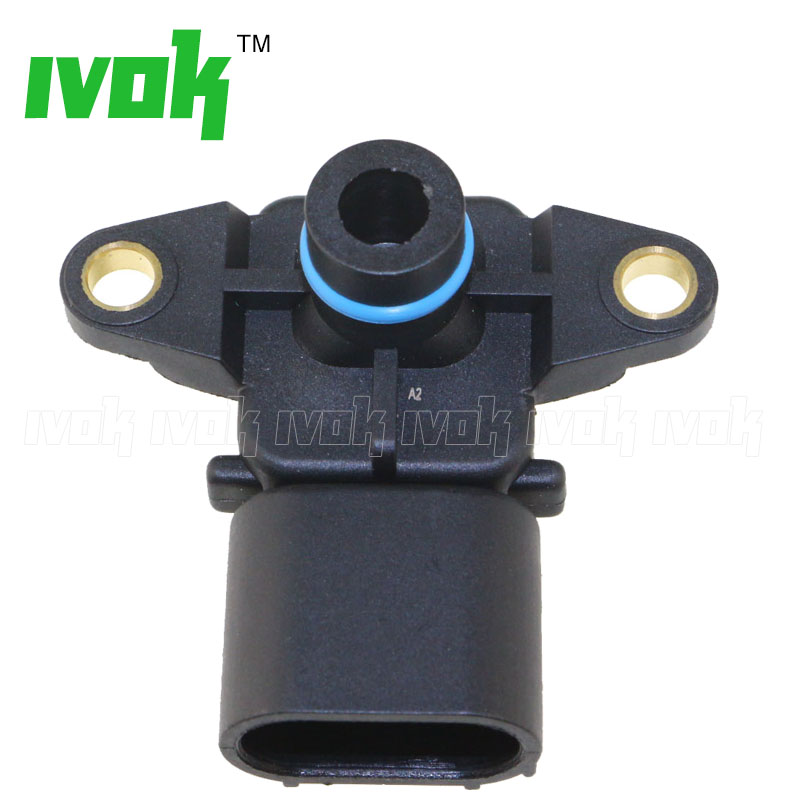 M.A.P Manifold Absolute Boost Pressure Vacuum MAP Sensor Sender For Chrysler Dodge Jeep 68002763AA 56041018AB