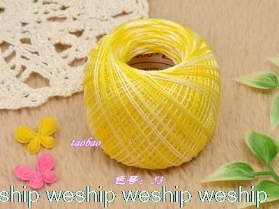 Японский сегмент окрашенная OLYMPUS кружевная линия tat ткачество нитки для ручного вязания нитки для вязания крючком Золотая этикетка № 40 1 заказ = 2 сумки - Цвет: 53