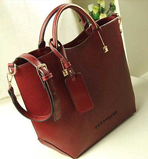 2016 Women PU Leather Handbag Messenger Bags Crossbody Famous Designer Brand Ladies BK70495