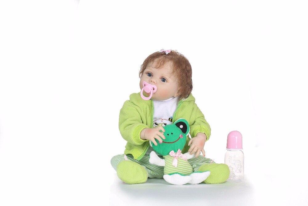 Npk 새로운 디자인 실리콘 reborn 아기 전신 부드러운 진짜 부드러운 터치 bonecas reborn 컷 bebe 인형 아이를위한 뜨거운 장난감-에서인형부터 완구 & 취미 의  그룹 3