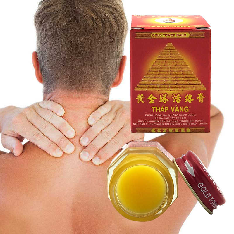 Torre de ouro do vietnã creme bálsamo 20g, alívio de coceiras e articulações musculares, reumatismo, dor, bálsamo de tigre
