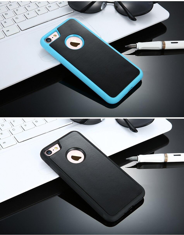 Anti-gravity case dla apple iphone 7 plus 6 6 s plus 5 5S se pokrywa dla samsung galaxy s6 s7 edge samsung s8 plus przypadki huawei p9 13