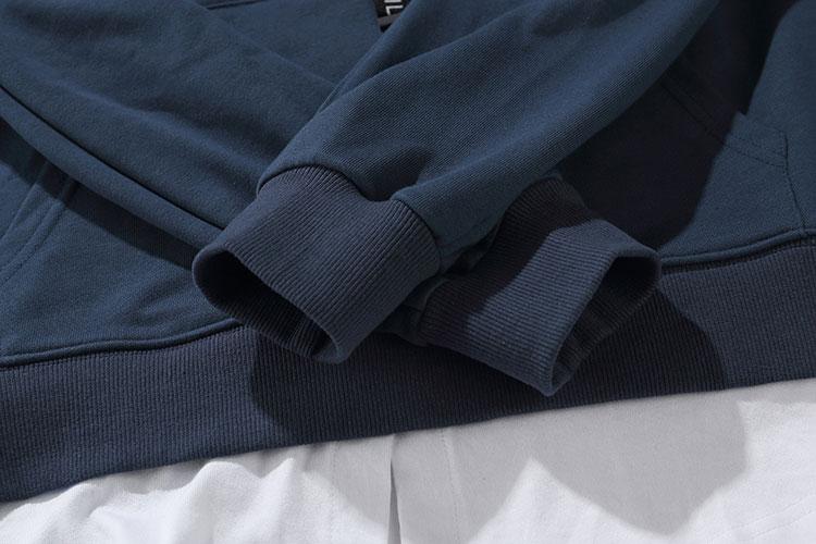 Sleeve Ribbon Hoodies 11