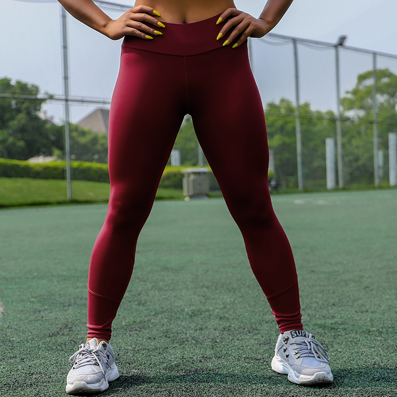 CHRLEISURE High Waist Fitness Leggings Women for Leggings Workout Women Mesh And PU Leather Patchwork Joggings S-XL 6