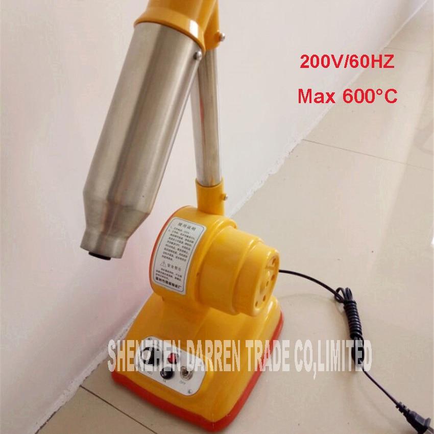 ФОТО 4pcs 200V/60HZ Desktop blow thread machine , drying machine wire machine hair blow shoe bag blowing Machine Max 600 degrees C