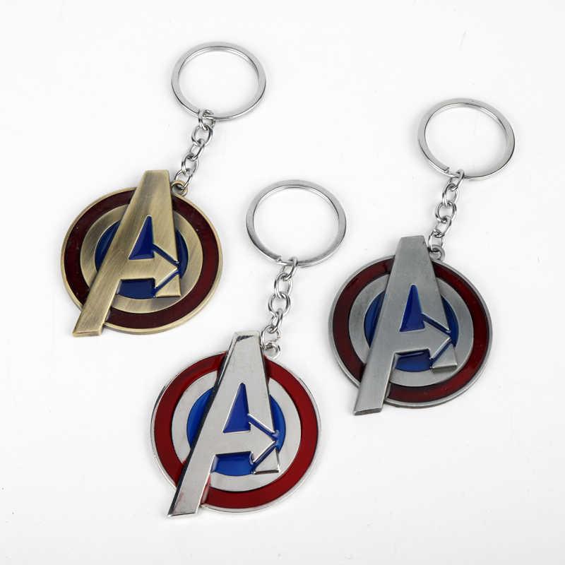 Marvel Avengers Marvel Superhero Chaveiro Design de Moda UM Estilo de Metal Brinquedos Corrente Chave Chaveiro Chave Presente para Mulheres Homens