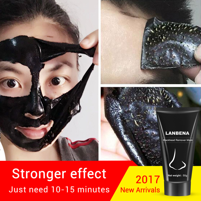 LANBENA Blackhead Nose Face Mask Facial Care Deep Cleansing Peel Off Removal Blackhead Acne Shrinking Pore Improve Rough