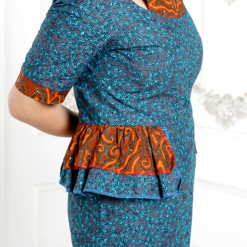 2019 Afrique robes pour femmes classique style élégant coton - Vêtements nationaux - Photo 6