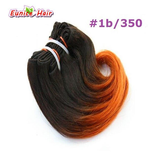 1b350 Ombre Brazilian Weave Hair Burgundy 8 Short Body Wave 4