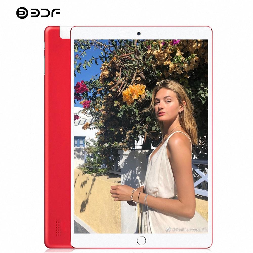 BDF 10 Inch Tablet Pc Android 7.0 Quad Core 3G Phone Tablet 1280*800 IPS Dual SIM 1GB RAM 32GB ROM WiFi Bluetooth Pc Tablet 10.1
