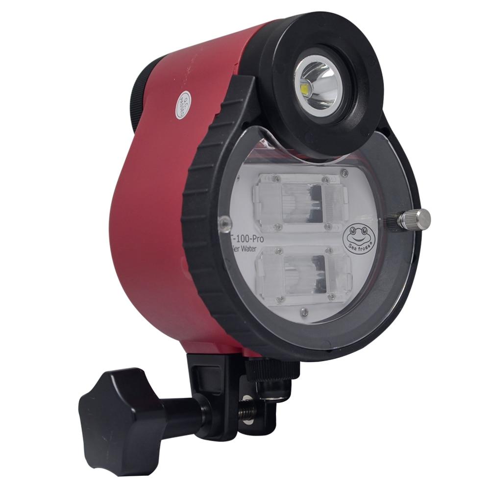 Mcoplus ST-100 Waterproof Flash strobe for A6500 A6000 A7 II RX100 I/II/ III/IV/V underwater Camera Housings Diving Case шлем hjc cl st ii