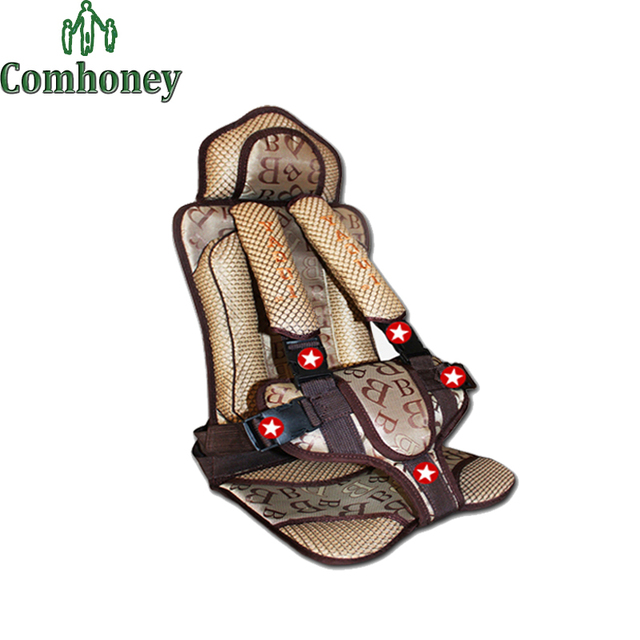 Crianças dos miúdos do bebê Assentos de Segurança Do Carro Ajustável Almofada Tampa de Assento para Carros de Proteção Infantil Booster Auto Harness Transportadora